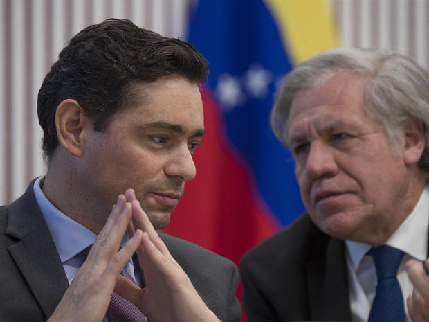 Venezuelan opposition seizes diplomatic offices in U S